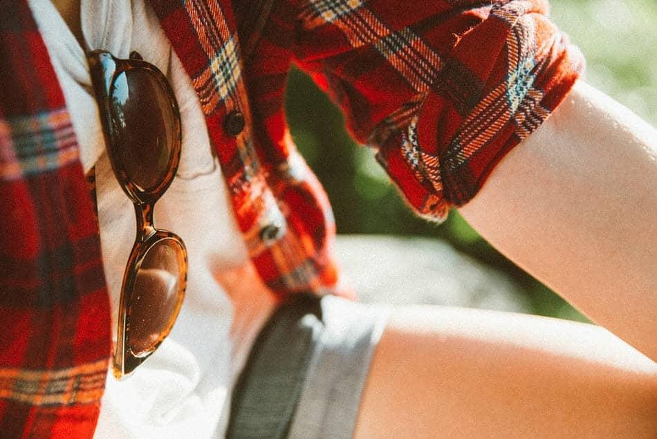 chemise ecologique a carreau